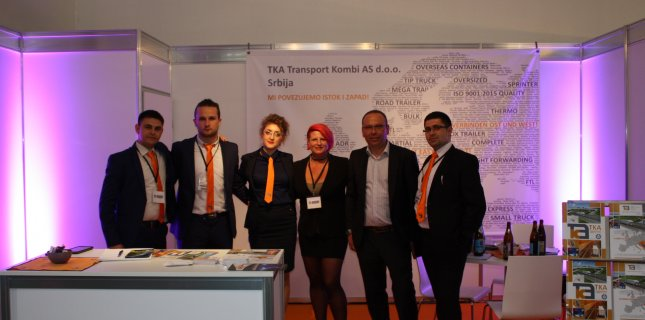 TKA TRANSPORT KOMBI AS D.O.O. AS AN EXHIBITOR AT THE